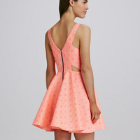Stacy Neon Tapestry Dress