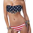 Stars and Stripes Bandeau Swimsuit