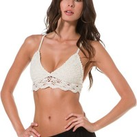 BILLABONG LIL' SECRET CROCHET BRALETTE | Swell.com