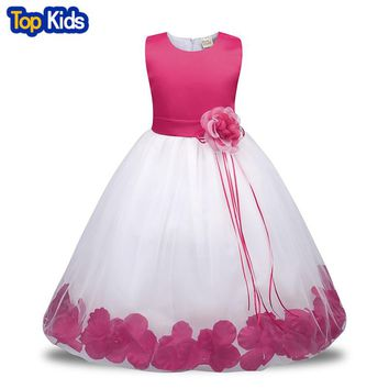 Summer Girl Dress For Girls Dresses birthday Kids clothes Princes Party dress Children Clothing Pageant Ball Gown