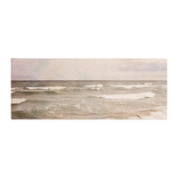 "Iris Lehnhardt ""Romantic Sea"" Beach Brown Bed Runner"