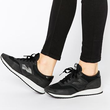 New Balance 620 Black Micro Trainers