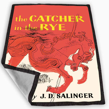 The Catcher in The Rye Blanket for Kids Blanket, Fleece Blanket Cute and Awesome Blanket for your bedding, Blanket fleece **