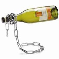 illusion wine holder - a modern, contemporary kitchen accessory from chiasso
