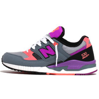 W530BWY Women's Sneakers Grey / Voltage Violet / Peach