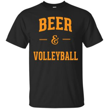 Beer & Volleyball T-Shirt Hoodie Perfect Funny Volleyball Fans Gifts