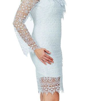 Abella Dress - White
