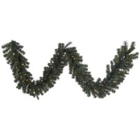 Vickerman 9' Classic Mixed Pine Artificial Christmas Garland with 50 Warm White LED Lights - Walmart.com