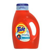 Tide With Touch Of Downy Clean Breeze Scent Liquid Laundry Detergent 50 Fl Oz