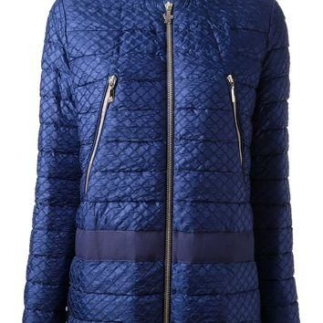 Moncler Gamme Rouge Quilted Bomber Jacket