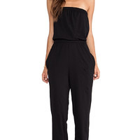 Bobi Supreme Jersey Jumpsuit in Black