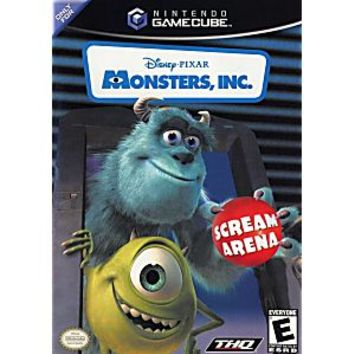 Monsters Inc Gamecube Game