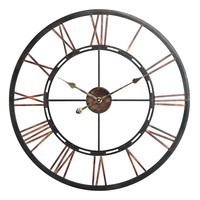 Mallory Wall Clock (Black)