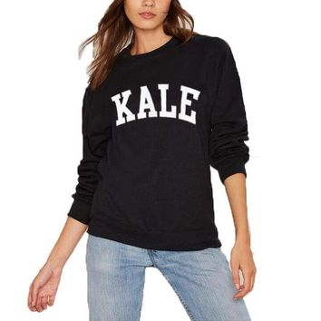 ca qiyif KALE Streetwear Fashion Long Sleeve