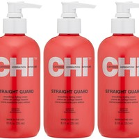 CHI Straight Guard Smoothing Styling Cream (Pack of 3)