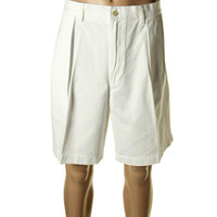 Cubavera Mens Linen Cargo Walking Shorts