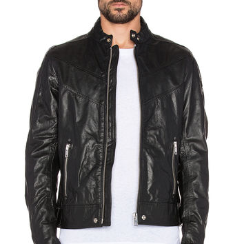 Best Diesel Black Leather Jacket Products on Wanelo