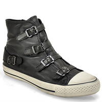 Ash - Virgin - Buckle Sneaker in Leather