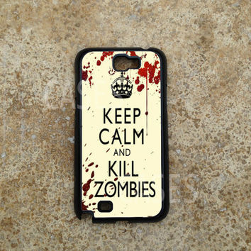 Samsung Galaxy Note 2 Case, Kill Zombies Galaxy Note Cases, Top Coolest Note 2 Cover
