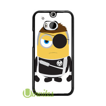 Despicable Me Minion Nick Fur  Phone Cases for iPhone 4/4s, 5/5s, 5c, 6, 6 plus, Samsung Galaxy S3, S4, S5, S6, iPod 4, 5, HTC One M7, HTC One M8, HTC One X