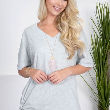 Port Cove Cotton Top | Dusty Sage