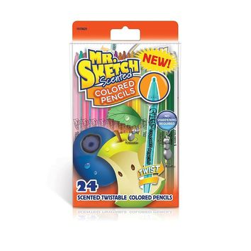 Mr, Sketch 24-Count Colored Pencils - CASE OF 16