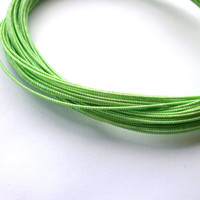 Mizuhiki Japanese Decorative Paper Strings Cords Sparkly Green