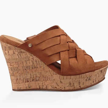 UGG Australia Women's Marta Wedge | Chestnut