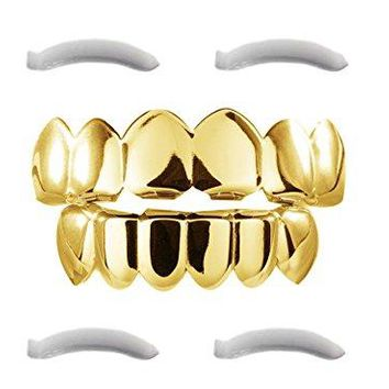 24K Original Grillz Top & Bottom
