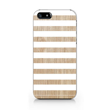 A-280- Stripe Wood print iPhone 4/4S case, Autumn iPhone 5/5S case
