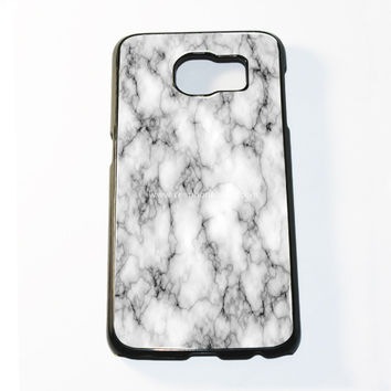 White Marble Samsung Galaxy S6 and S6 Edge Case