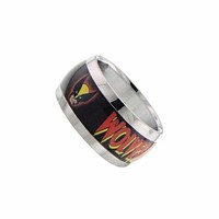 Wolverine Head Logo Graphic Ring Size 8
