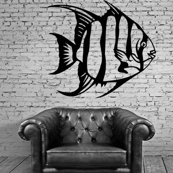 Fish Wall Stickers Nursery Marine Ocean Fishing Vinyl Decal Unique Gift (ig908)