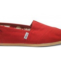 Red Canvas Classics | TOMS.com