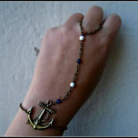 nautical bracelet/ring by alapopjewelry