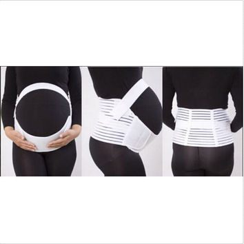 Pregnancy Maternity Abdominal Belly Back Support Strap Belt Brace Band Cotton