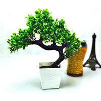 Artificial flower potted bonsai Set fake flower plant pine trees Komatsu