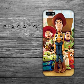 Disney Woody, Buzz Lightyear And Friends  - Disney Toy Story 01 - Iphone Case, Hard Plastic, FREE Shipping Worldwide