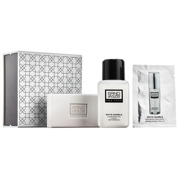 Sephora: Erno Laszlo : White Marble Double Cleanse Travel Set : skin-care-sets-travel-value