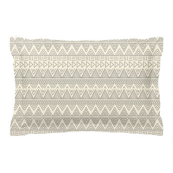 African Mud Cloth Pillow Sham