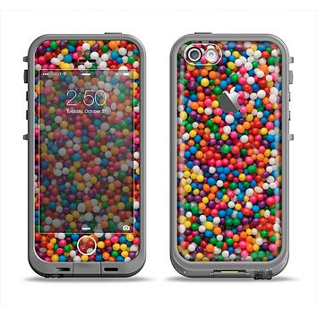 The Tiny Gumballs Apple iPhone 5c LifeProof Fre Case Skin Set