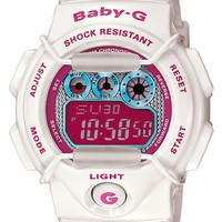 Women's Baby-G 'Tropical Paradise' Digital Watch, 44m x 40mm