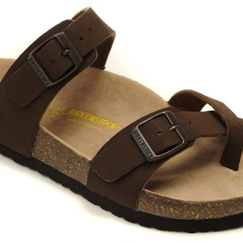 Birkenstock Mayari Sandals Artificial Leather Chocolate - Ready Stock