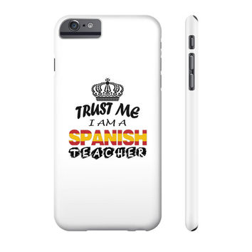 Spanish teacher light Phone Case
