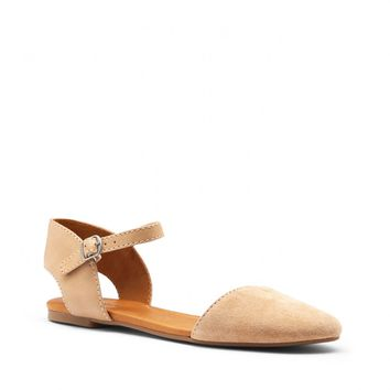 Sole Society Abbee Ankle Strap Flat