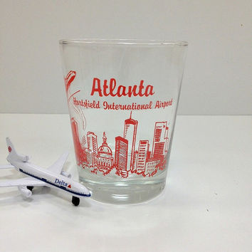 Vintage Atlanta Hartsfield Airport Souvenir by vintage19something