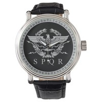 The Roman Empire Emblem Watch. Wrist Watch