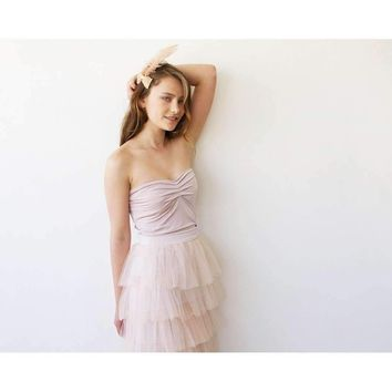 Pink Ballerina Strapless Stretchy Top 2007