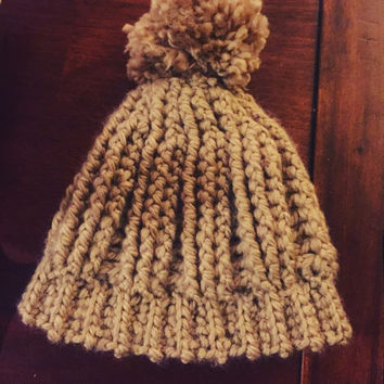 Chunky & cozy winter hat, crochet
