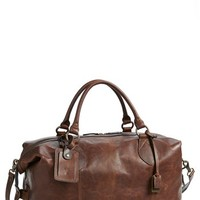 Men's Frye 'Logan' Leather Overnight Bag (Online Only)